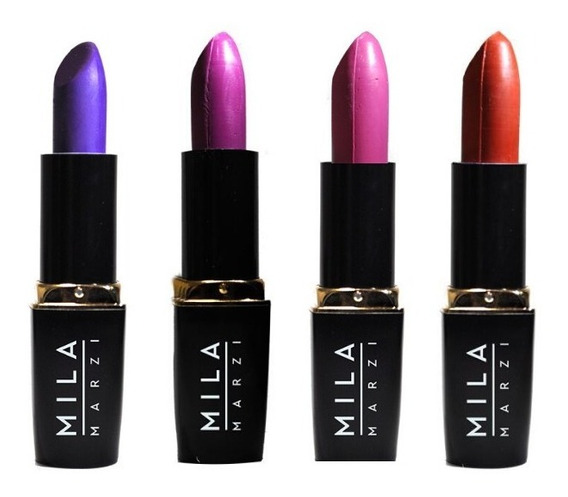 Labial Mate Full Color Mila 4 Colores