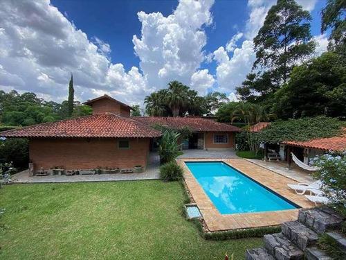 Casa Com 4 Dormitórios 2 Suítes À Venda, 376 M² Por R$ 2.150.000 - Algarve - Cotia/sp - Ca3239