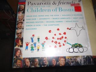 Pavarotti And Friends Children Of Bosnia Laser Disc