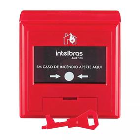 Acionador Manual End Ame520 Sistema Anti-incendio Intelbras