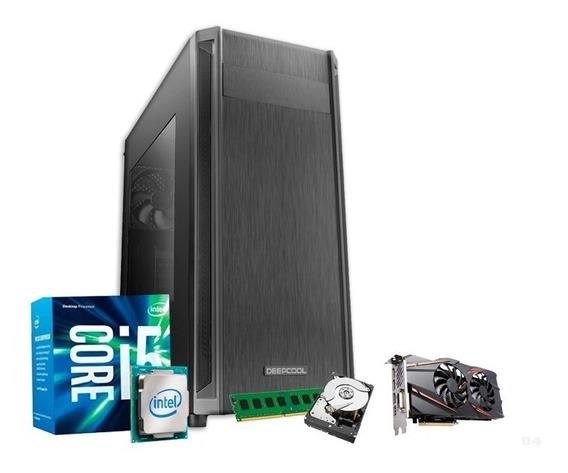 Pc Gamer I5 7400, 8gb Ddr4, 1tb, Geforce Gtx1050 4gb + Nfe