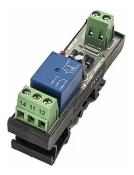 Acoplador A Relé 24vca Para Interface