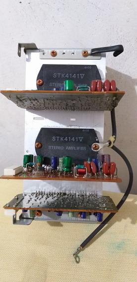 Kit Placa Amp. System Jvc Mxg7