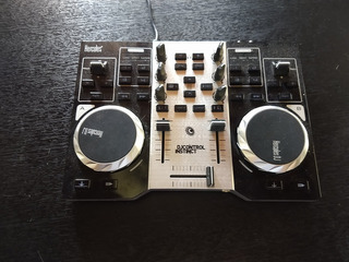Consola Hercules Dj Instinct + Placa De Sonido Original