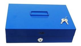 Caja De Seguridad Para Dinero C/4 Clip Suejta Billetes 29cm