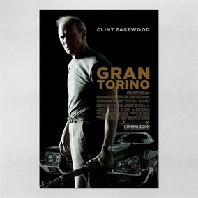 Poster 30x45cm Filmes Gran Torino 2