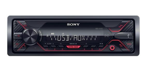 Stereo Auto Sony Usb Aux Dsx-a110 4x55w