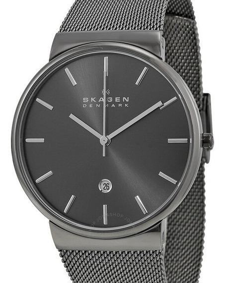 Relógio Skagen Masculino Titanium Slim Skw6108