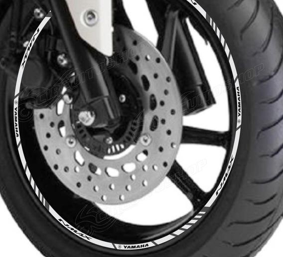 Friso Adesivo Refletivo M5 Roda Moto Yamaha Nmax N Max 160