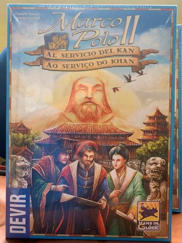 Jogo Marco Polo 2 A Servico Do Khan - Devir - Bonellihq A21