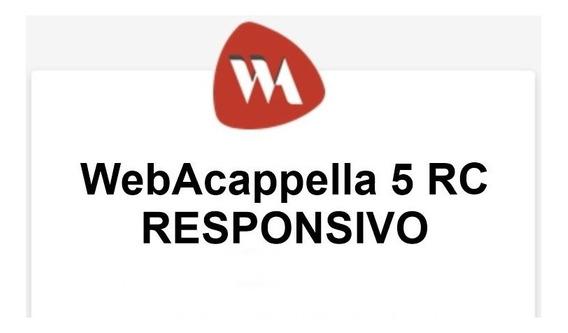 Webacappella 5 Responsivo - V. 1.5.5 + 4 Templates