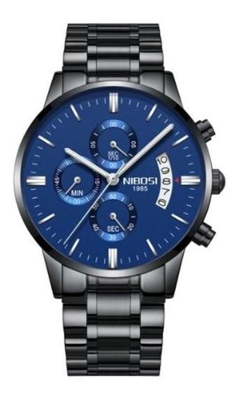Relógio Nibosi Com Cronógrafo Modelo 2309