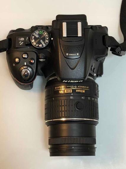 Câmera Fotográfica Nikon D5300 Com Wi-fi E Gps Integrados
