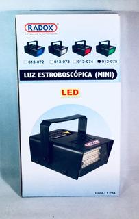 Luz De Estrobo De Led Color Verde Marca Radox Modelo 013-075