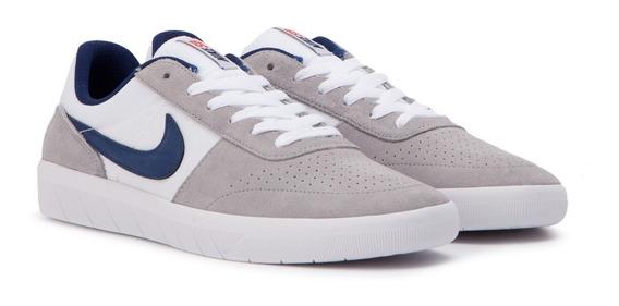 Zapatillas Nike Sb Team Classic 002 Wolf Grey / Blue Void