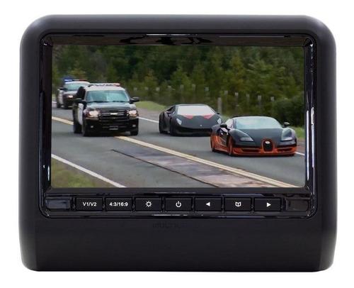 Monitor Automotivo Multilaser 9  Para Encosto Cabeca Preto