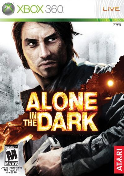 Jogo Alone In The Dark Xbox 360 X360 Mídia Física Terror