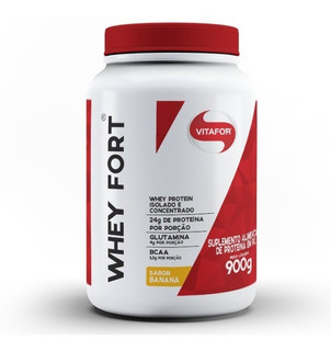Whey Fort Isolada E Concentrada - Vitafor