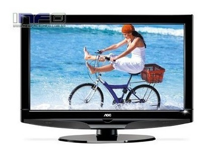 Tv Monitor Aoc L22w831 Hd Hdmi Bem Conservada