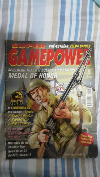 Revista Videogame Medal Of Honor Playstation Mega Drive