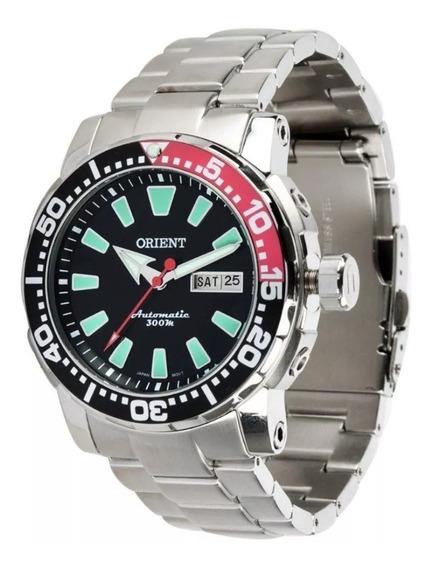 Relógio Orient Automático 469ss039 Pvsx 12x S Juros