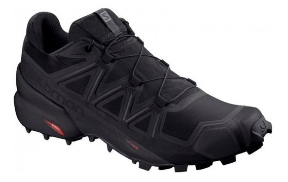 Zapatillas Mujer Salomon Speedcross 5 Trail Running Black B