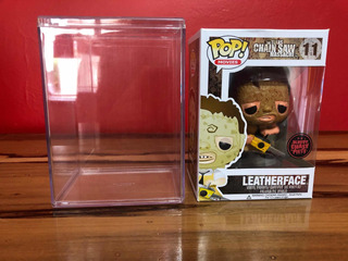 Funko Pop Leatherface Bloody Chase Con Protector