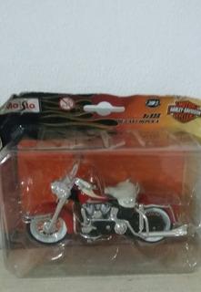 Moto Harley-davidson 1962 Flh Duo Glide Maisto 1/18