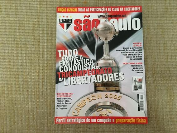 Revista São Paulo Fc 128 Tricampeonato Da Libertadores L927