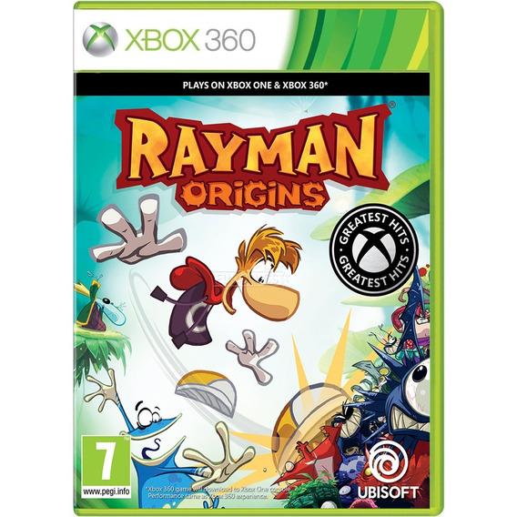 Jogo Rayman Origins Xbox360 Midia Fisica Cd Original Game Novo Lacrado Português Promoção