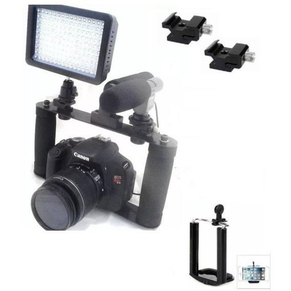 Suporte Para Câmera Dslr Canon Nikon Sony Pentax Gtek Cage