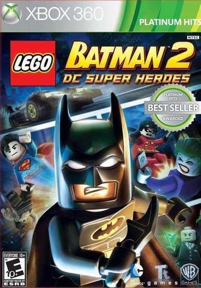 Jogo Xbox 360 - Lego Batman 2 Dc Super Heroes - Lacrado