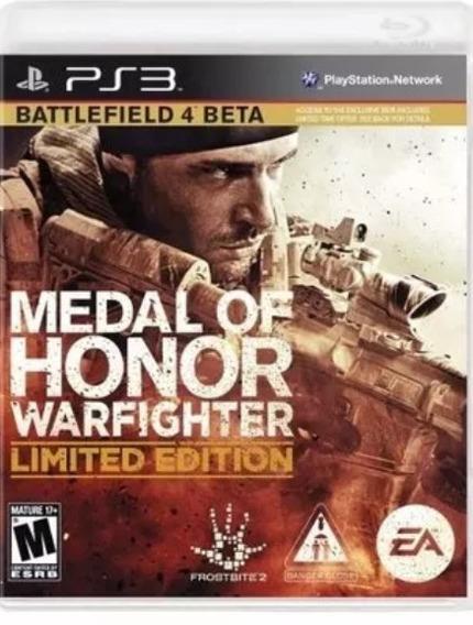 Medal Of Honor Warfighter - Ps3 Usado