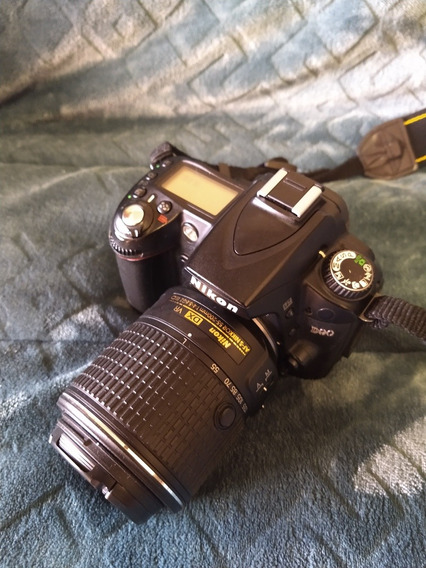 Nikon D90 Bem Conservada + Lente 55-200mm Af
