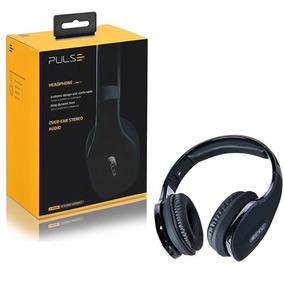 Fone De Ouvido Over Ear Wireless Stereo Preto Ph150 Pulse