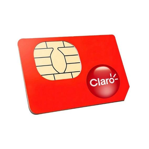 Chip Claro Gprs M2m Telemetria Para Rastreador Plano Mensal