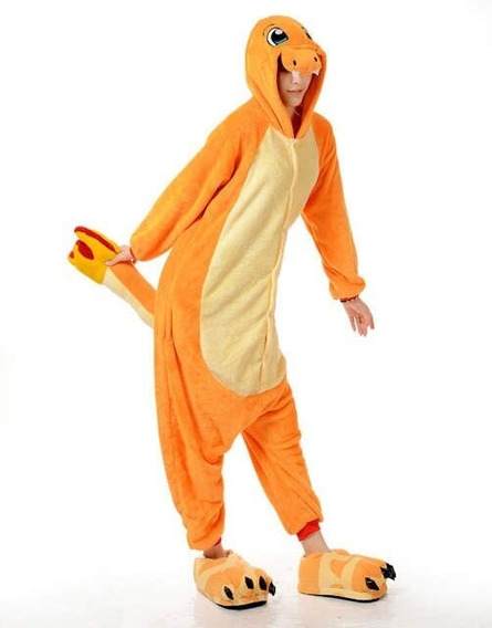 Pijama Charmander Pokemon Kawaii - Adulto