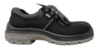 Zapato Boris 2124 Nf Punta De Acero Seguridad Dielectrico