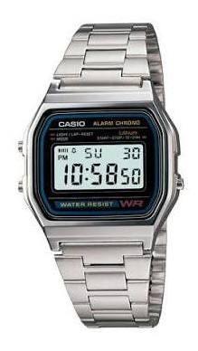 Relógio Digital De Aço Inoxidável Das Mulheres Dos Homens Es