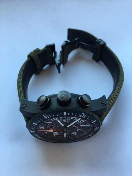 Relógio Fortis B42 Marinemaster Chrono Black Titânio
