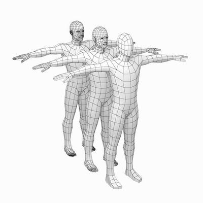 Pacote T-pose E Poses Para Aprendizado Avançado.