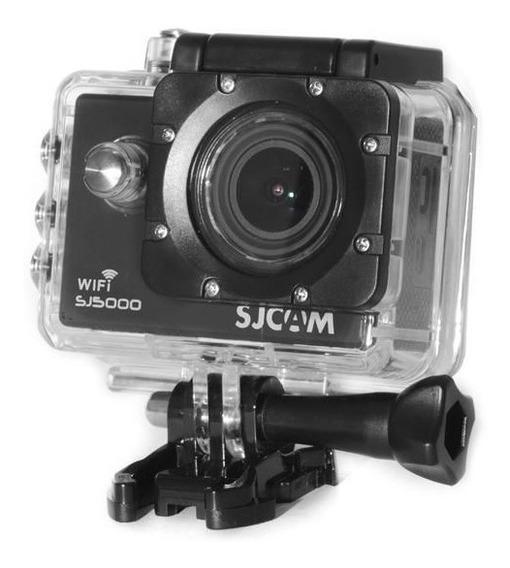 Câmera De Ação Sj5000 Wifi E Lente De 170 Graus Preto