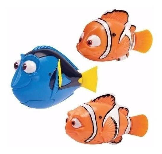 Buscando A Dory Peces Nadadores Pack Promo X 3 Personajes Ef