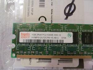 Memoria Server 1gb Ddr2 Pc2 5300 Hp Dell Ibm