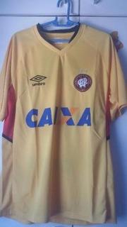 Camisa Atlético Paranaense Umbro Amarela Nova Tam G