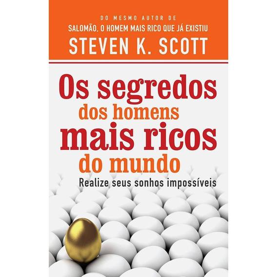 Livro Os Segredos Dos Homens Mais Ricos Do Mundo Stevenscott