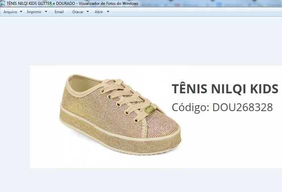 Tênis Nilqi Kids Para Revenda