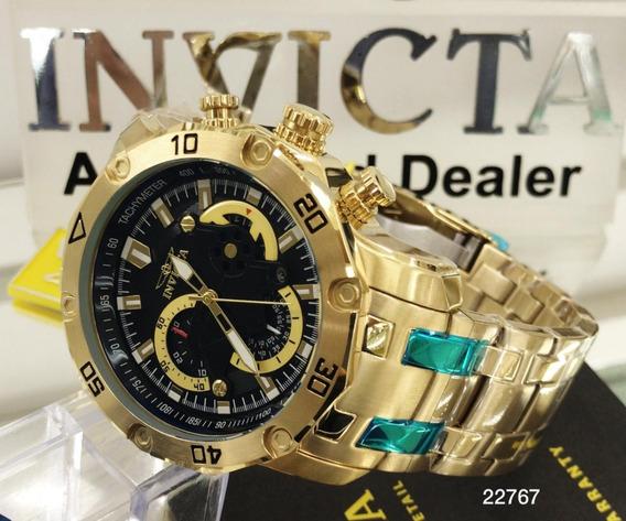 Relógio Invicta Pro Diver 22767 Vd53- Ouro 18k Frete Grátis