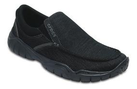 Zapato Crocs Caballero Swiftwater Casual Slip-on Negro