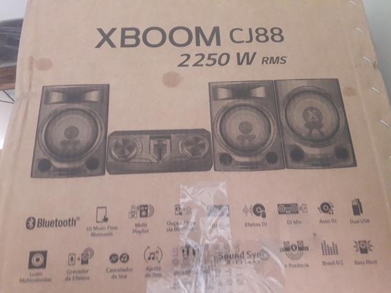 Som Lg Xboom Cj88 Na Caixa!